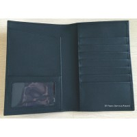 Genuine Leather Passport Holder