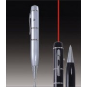 Metal 3-in-1 USB Laser Pointer - Ballpen